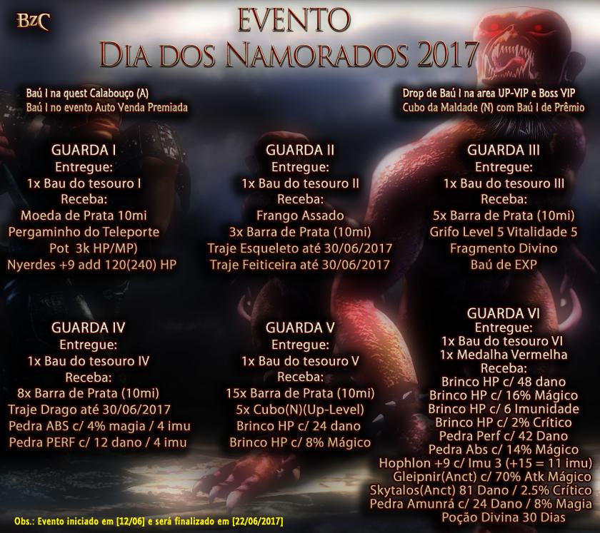 WYD Brazuca - BzC - Evento de Dia dos Namorados