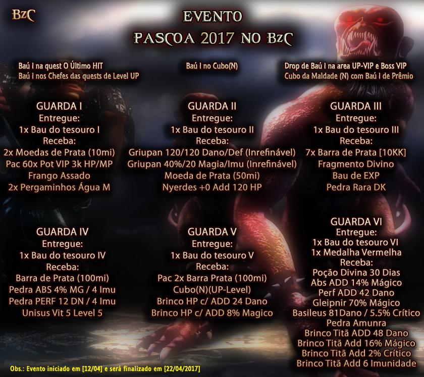WYD Brazuca - BzC - Evento de Páscoa